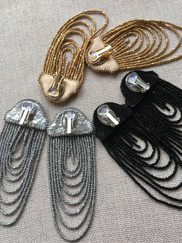 Плетем серьги из бисера своими руками