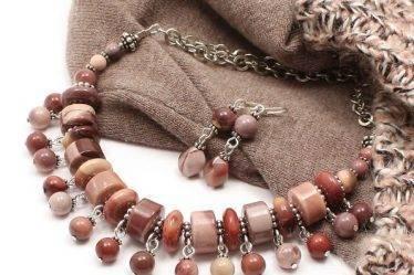 Авторские украшения из натуральных камней