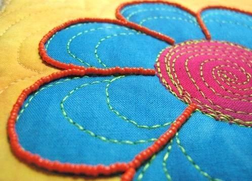 Объемная вышивка для начинающих