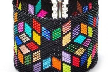 Мозаичное плетение бисером. Мастер-класс для начинающих