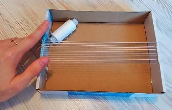 Станок для бисероплетения из картона