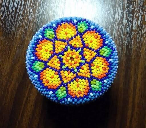 Фото Круговое плетение
