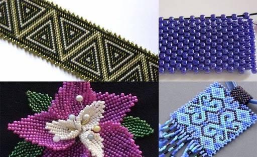 Фото Мозаичное плетение